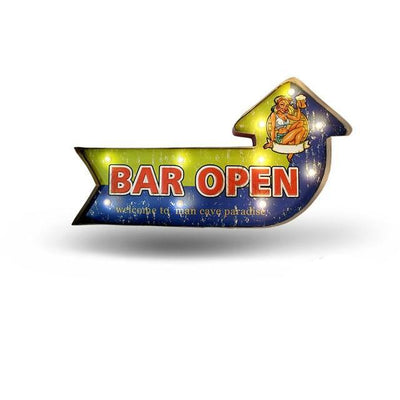 Open Bar LED Sign