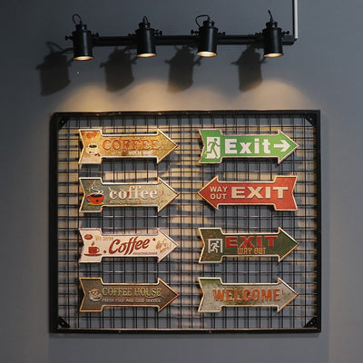 Beer Bar Arrow Sign