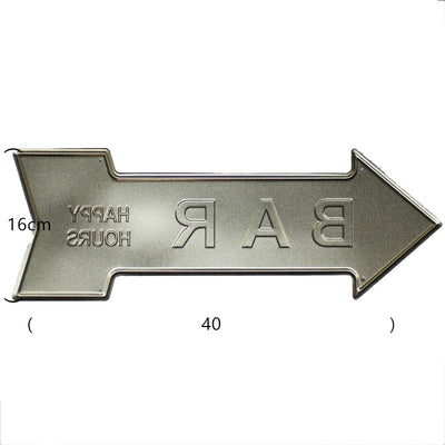 Garage Arrow Sign