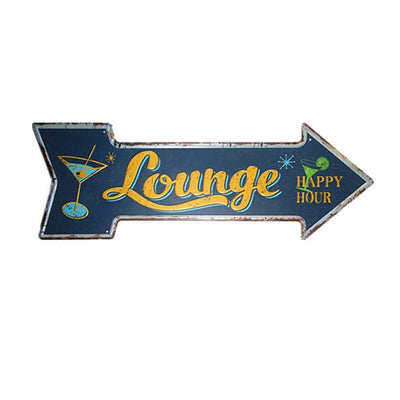 Lounge Arrow Sign