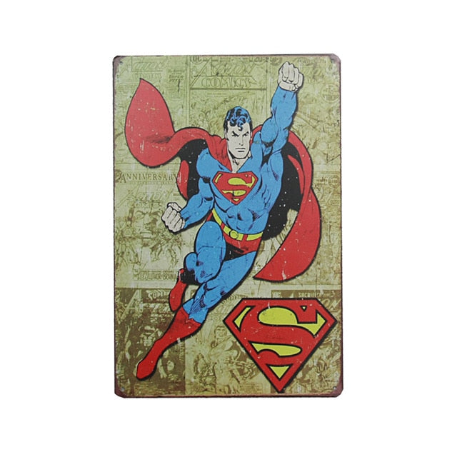 Superman Vintage Sign