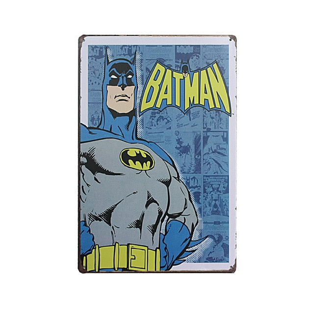 The Batman Vintage Sign