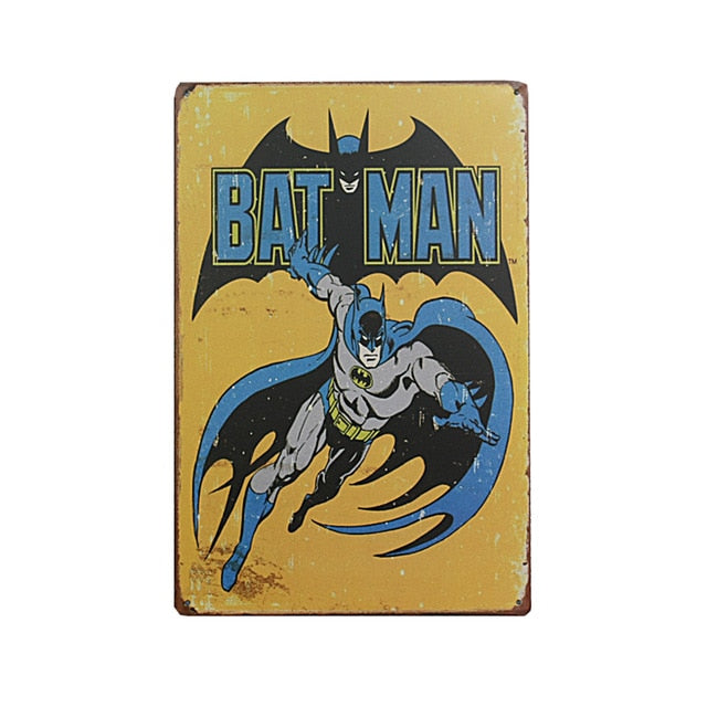 Batman Vintage Sign