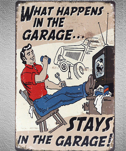 What Happens In A Man's Garage