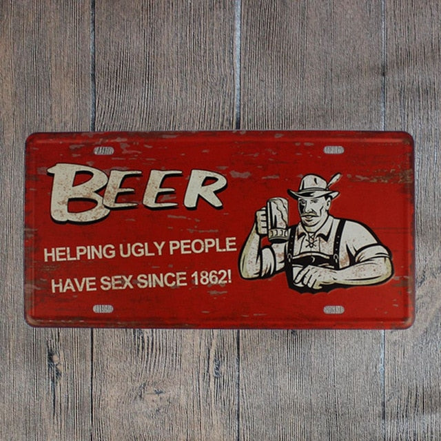 Beer Helping Ugly People...