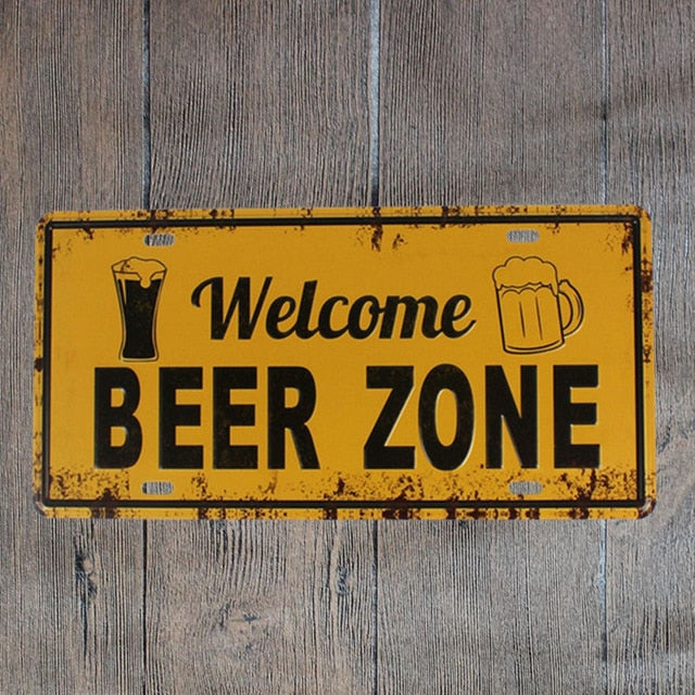 Welcome Beer Zone
