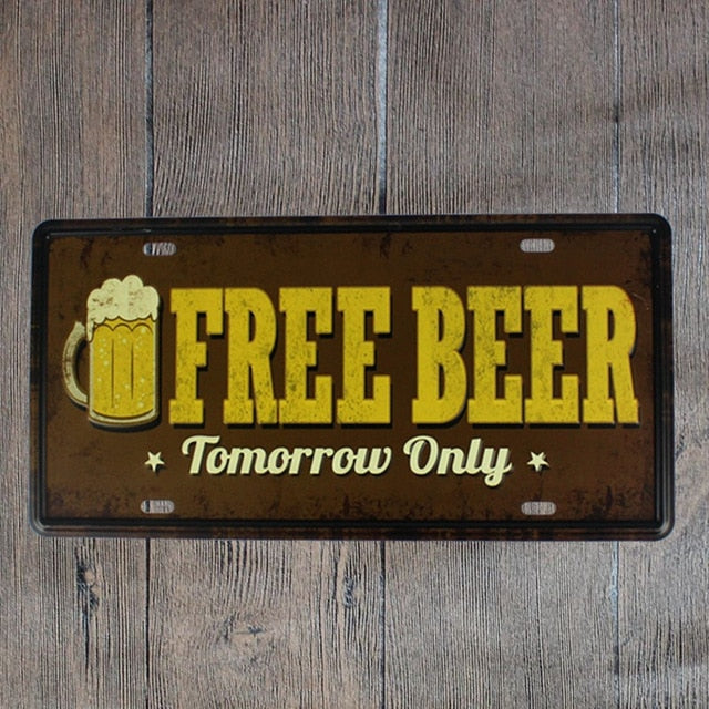 Free Beer Tomorrow Only