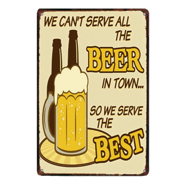 We Can't Serve All The Beer...