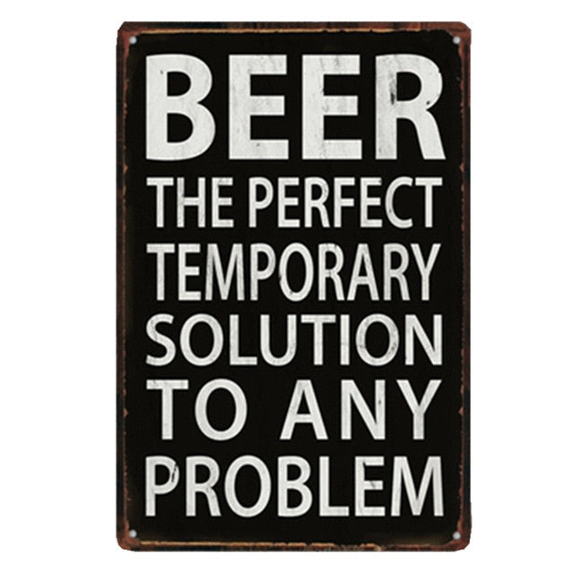 Beer The Perfect Temporary Solution