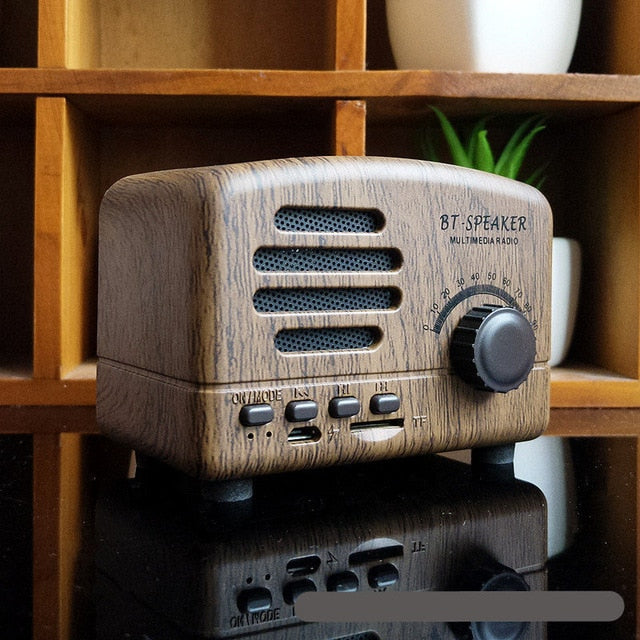 Vintage Radio Bluetooth Speaker