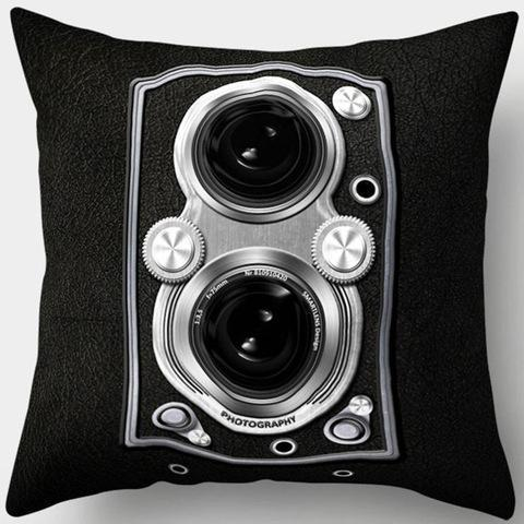Old School Vintage Camera Pillowcase