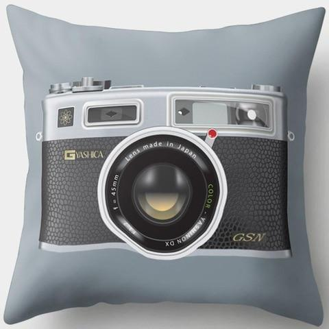 Classic Vintage Camera Pillowcase
