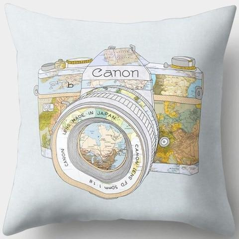 Canon Vintage Camera Pillowcase