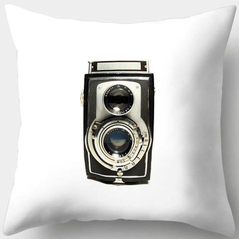Simple Vintage Camera Pillowcase