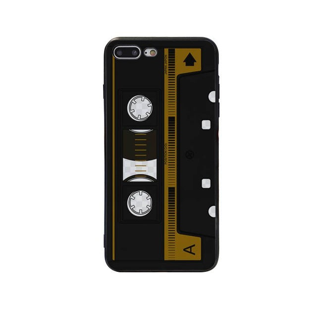 Brown Cassette Phone Case
