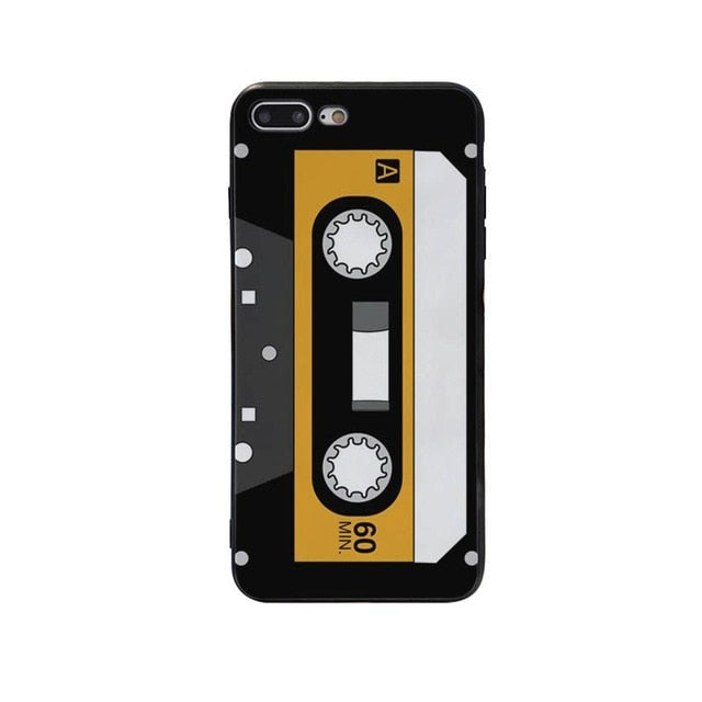 Yellow Cassette Phone  Case