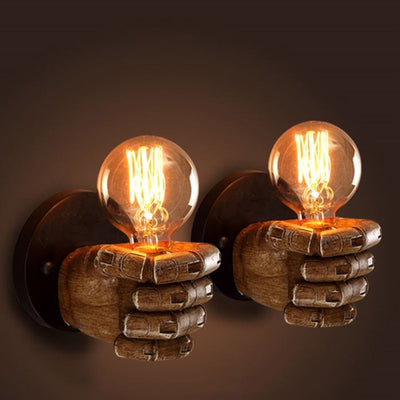 Fist Wall Light Fixture