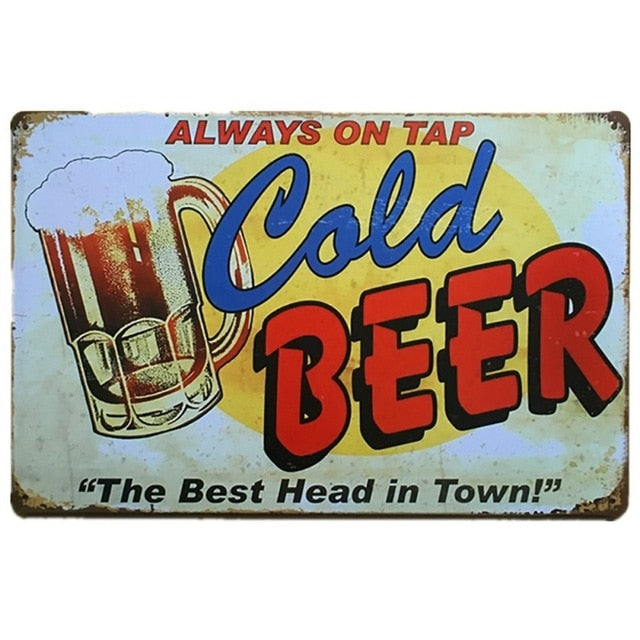 Always On Tap Cold Beer