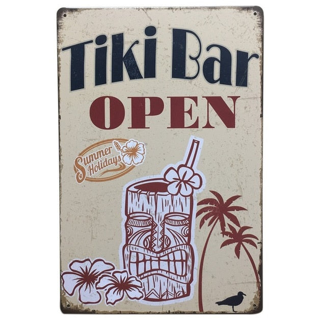 Tiki Bar Open