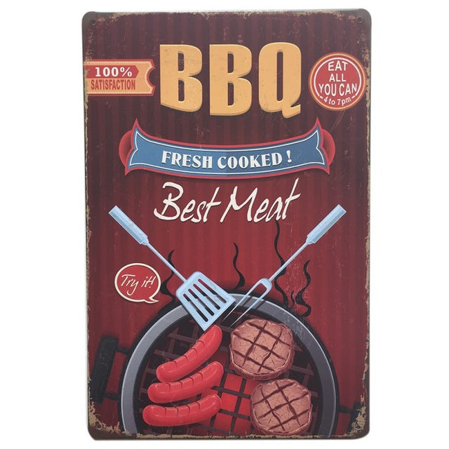 BBQ Fresh Cooked Meat