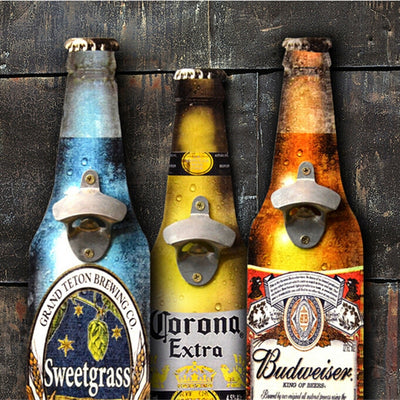 Sweetgrass Bottle Opener Decor