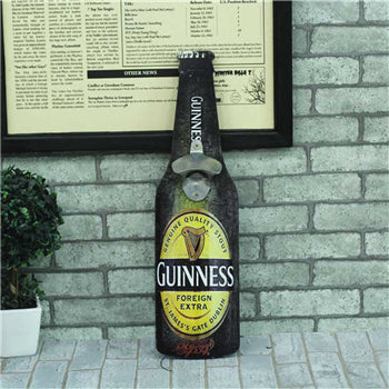 Guinness Bottle Opener Decor