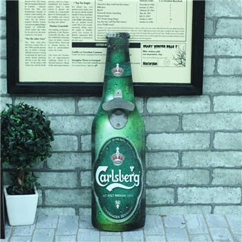 Carlsberg Bottle Opener Decor