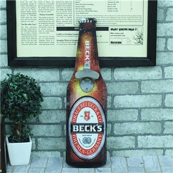 Beck's Bottle Opener Decor