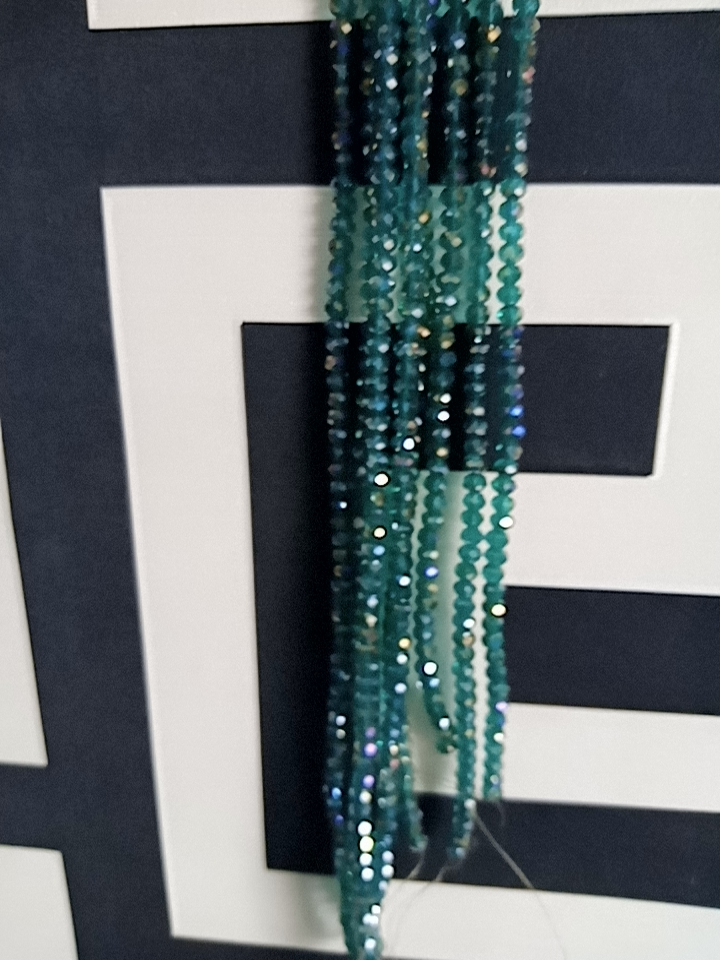 Crystal Beads per strand