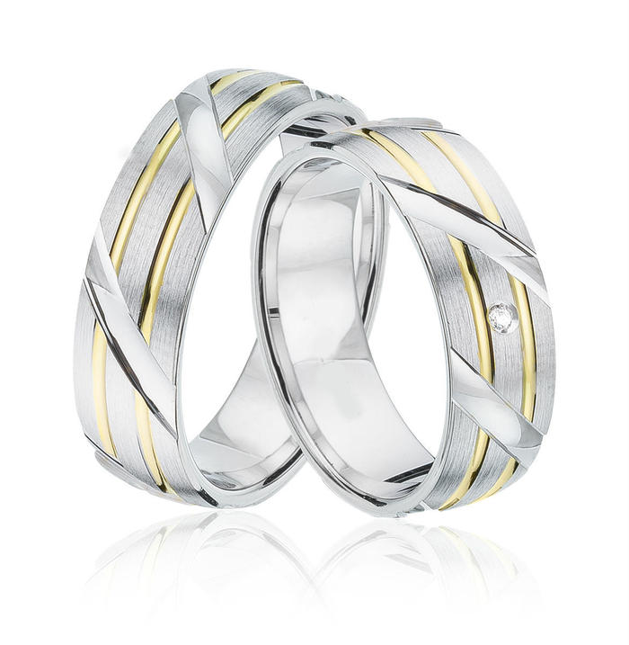 9kt Gold Heavy Weight Ernesto Unisex Wedding Band