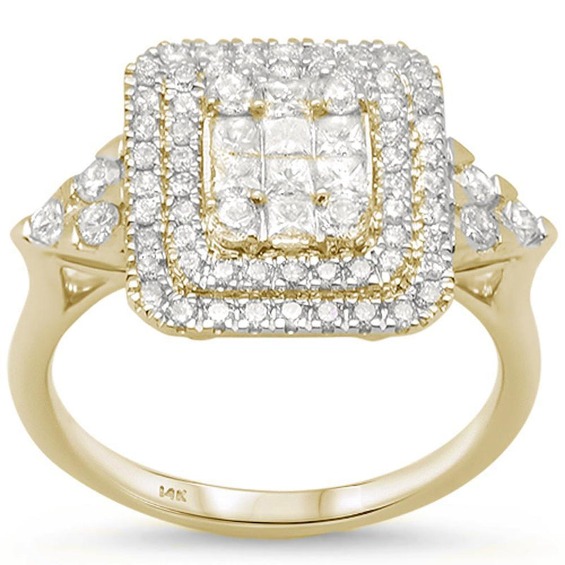 14kt Gold Saintlucy 1.07 CT Diamond Engagement Ring