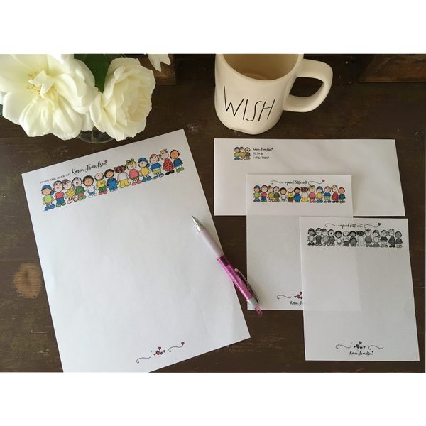 DIY Stationery With Clipart