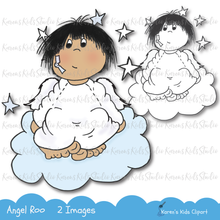 Load image into Gallery viewer, Digital Stamp Angel Roo