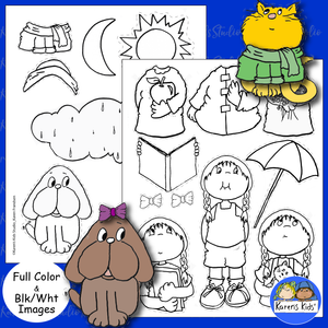 DIY Back to School Magnetic Paper Doll Kids