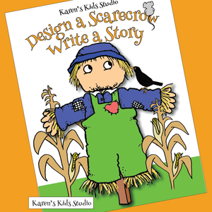 Make a Scarecrow Activity (Karen's Kids Printables)