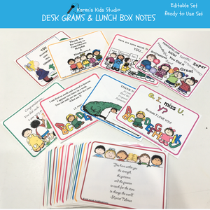 Desk grams for lunch bags, desks or pockets