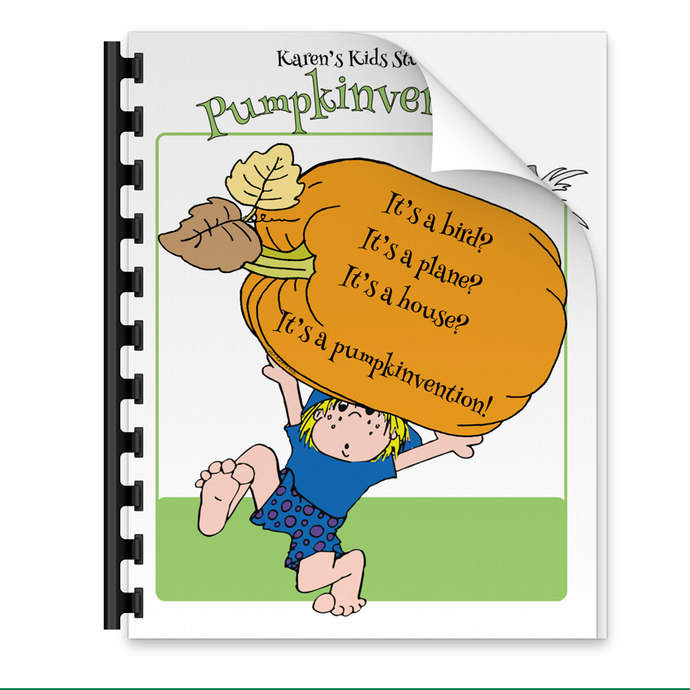 Morning Work PUMPKINVENTION (Karen's Kids Printables)