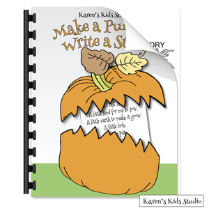 Make a pumpkin Write a story
