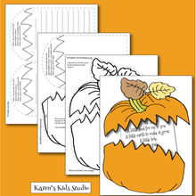 Load image into Gallery viewer, Make a pumpkin craft