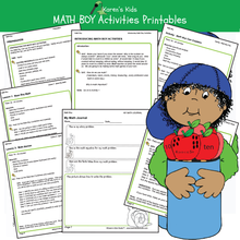 Load image into Gallery viewer, Sample Karens Kids products with this FREE math kit