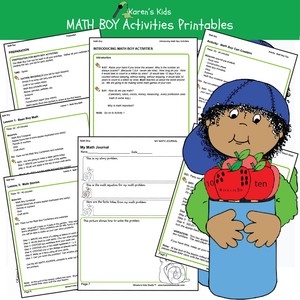 Sample Karens Kids products with this FREE math kit