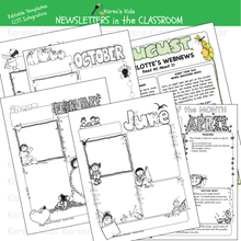 Load image into Gallery viewer, Newspapers in the classroom printables