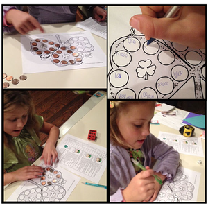 PLAY A GAME MAKE A GAME  Freebie (Karen's Kids  Printables)