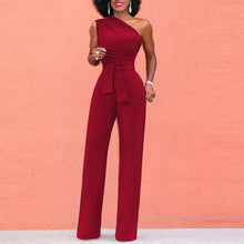Load image into Gallery viewer, Elegant Sleeveless Pure Color Jumpsuit