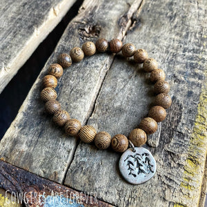 Woodzee | Wood Beaded Bracelet