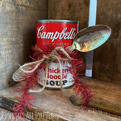 Get Well Soon | Vintage Stamped Spoon