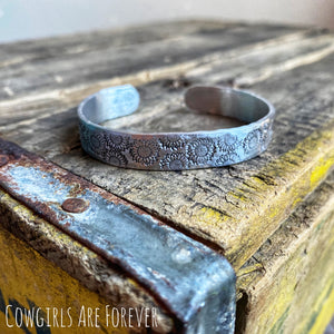 Field of Sunflowers | Hand Stamped Cuff