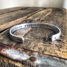 Load image into Gallery viewer, Keep F***ing Going | Hand Stamped Cuff Bracelet