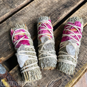 White Sage & Lavender Smudge Sticks