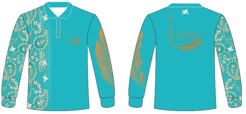 Decadence Cowgirl Fishing Shirts